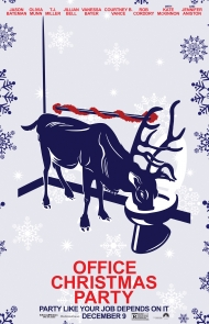 'Office Christmas Party' Poster 4