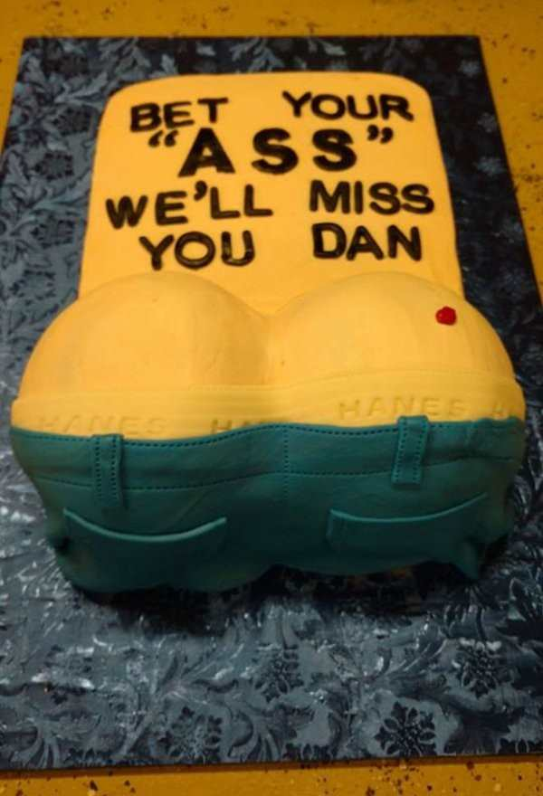 22 Of The Funniest Farewell Cakes Ever Mandatory
