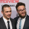 Los Angeles premiere of 'The Interview' at The Theatre at Ace Hotel Downtown LA - Red carpet arrivals Featuring: James Franco, Seth Rogen Where: Los Angeles, California, United States When: 11 Dec 2014 Credit: Brian To/WENN.com