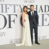 'Fifty Shades of Grey' UK premiere at the Odeon Leicester Square - Arrivals Featuring: Jamie Dornan and Dakota Johnson Where: London, United Kingdom When: 12 Feb 2015 Credit: Joe/WENN.com