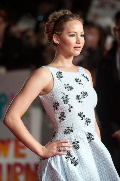 'The Hunger Games: Mockingjay, Part 1' world premiere held at the Odeon Leicester Square - Arrivals Featuring: Jennifer Lawrence Where: London, United Kingdom When: 10 Nov 2014 Credit: Daniel Deme/WENN.com