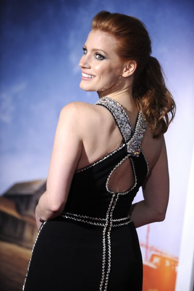 'Interstellar' New York premiere at AMC Loews Lincoln Square theater - Arrivals Featuring: Jessica Chastain Where: New York City, New York, United States When: 03 Nov 2014 Credit: Dennis Van Tine/Future Image/WENN.com **Not available for publication in Germany, Poland, Russia, Hungary, Slovenia, Czech Republic, Serbia, Croatia, Slovakia**