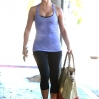 Julianne Hough Leaves a Gym in West Hollywood