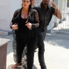 Kim Kardashian and Kanye West are seen house hunting in Beverly Hills. Kanye lashes out on the paparazzi after banging his head with the metal street sign Featuring: Kim Kardashian,Kanye West Where: Los Angeles, CA, United States When: 10 May 2013 Credit: WENN.com