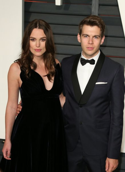 2015 Vanity Fair Oscar Party Hosted By Graydon Carter Featuring: Keira Knightley, James Righton Where: Beverly Hills, California, United States When: 24 Feb 2015 Credit: FayesVision/WENN.com