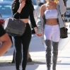 Kylie Jenner and Pia Mia walk to get Greek Yogurt together holding handsFeaturing: Kylie Jenner, Pia Mia PerezWhere: Los Angeles, California, United StatesWhen: 29 May 2015Credit: WENN.com