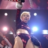 Recording artist Miley Cyrus performs onstage during KIIS FM's Jingle Ball 2013 at Staples Center on December 6, 2013