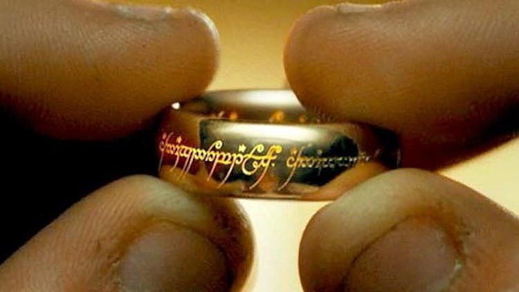 1. The One Ring (The Lord Of The Rings)