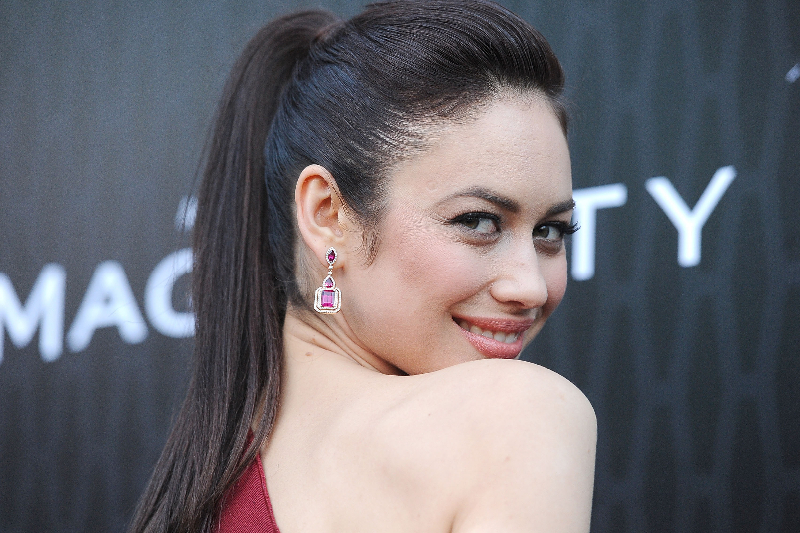 "Actress Olga Kurylenko arrives at the premiere of Starz's ""Magic City"" held at the Directors Guild of America"