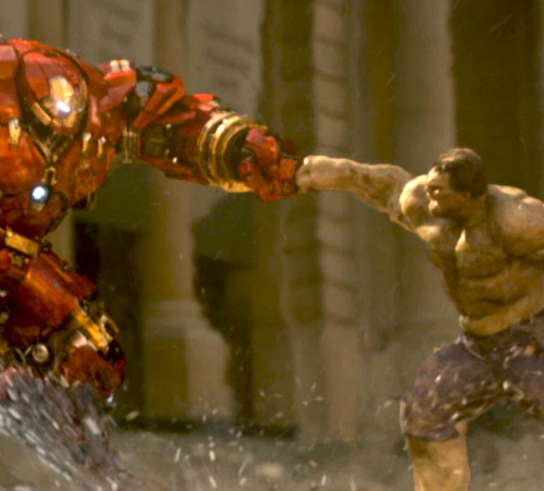 Iron Man vs. The Hulk in 'Avengers: Age of Ultron'
