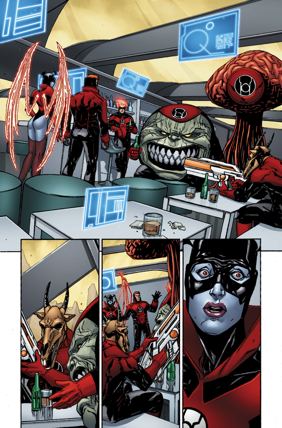 Red Lanterns #24 Preview 1