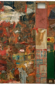 """Robert Rauschenberg: Among Friends"" Exhibition at the Museum of Modern Art"