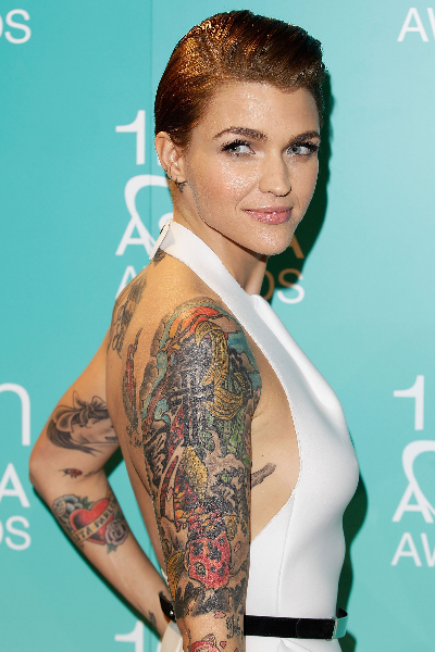 Ruby Rose arrives at the 10th annual Astra Awards at Sydney Theatre on June 21, 2012 in Sydney, Australia.
