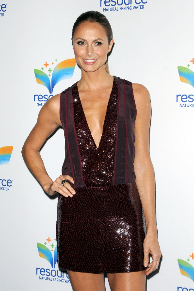 Celebrities attend the launch of 'Resource' Natural Spring Water