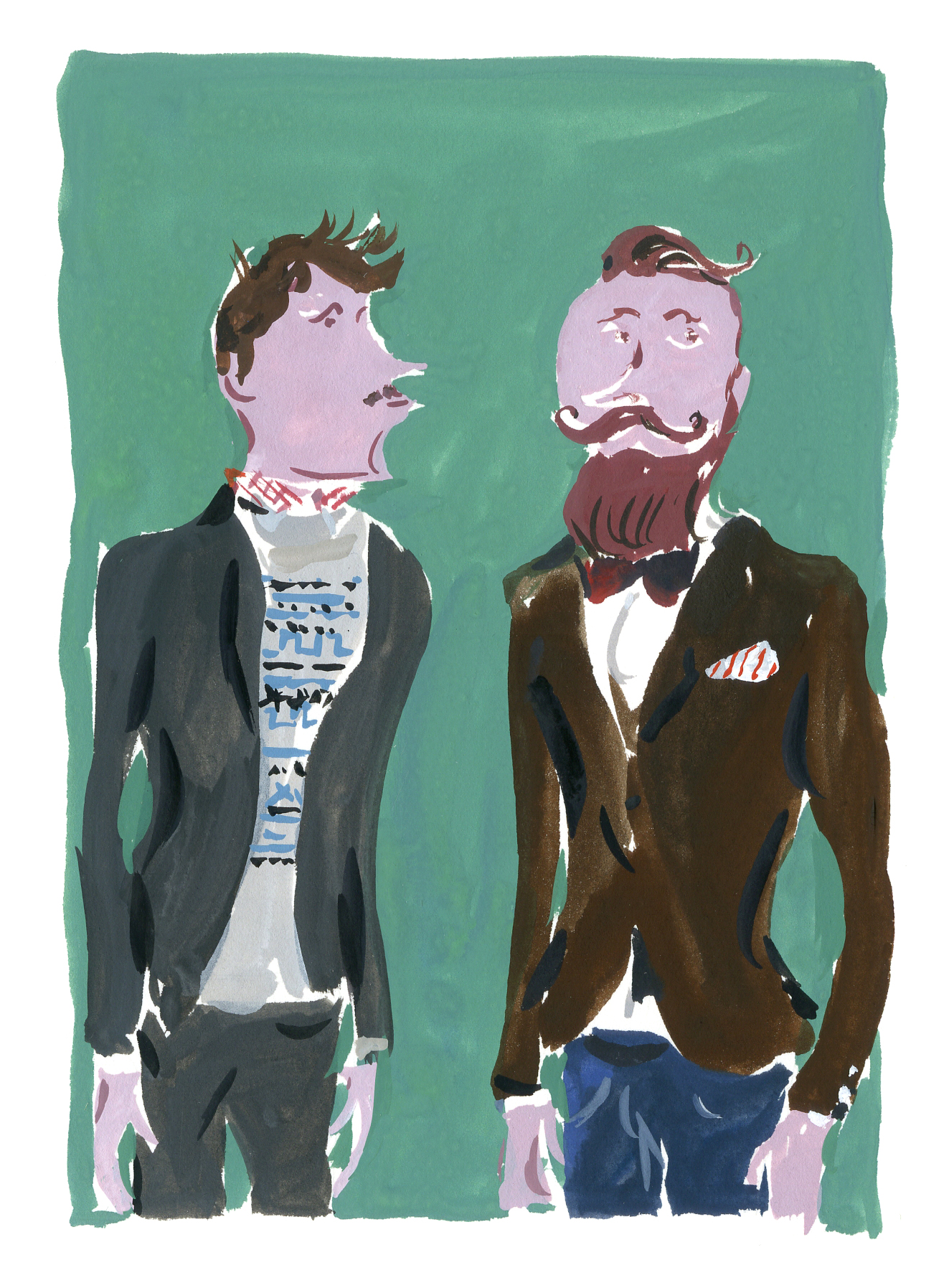 """Suave in Every Situation: A Rakish Style Guide for Men"" by Gonzague Dupleix and Jean-Philippe Delhomme"