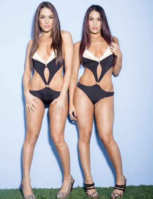 The bella twins naked