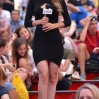 Mexican TV weather girl Yanet García In Times Square Featuring: Yanet Garcia Where: Manhattan, New York, United States When: 27 Jul 2015 Credit: TNYF/WENN.com