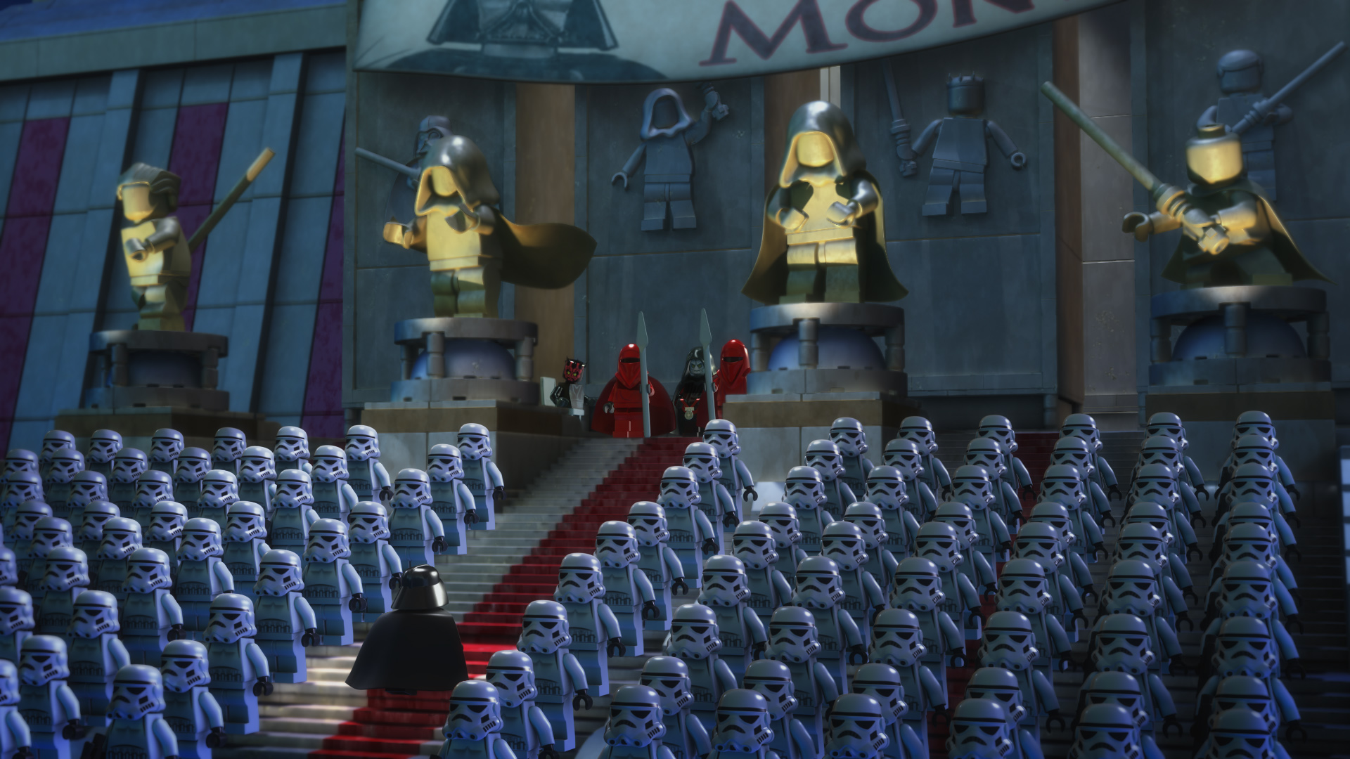 Lego Star Wars The Empire Strikes Out Exclusive Clip And Stills