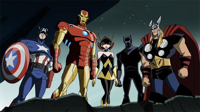 Iron Man Avengers Earth's Mightiest Heroes