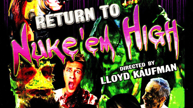 Return to Nuke Em High Lloyd Kaufman
