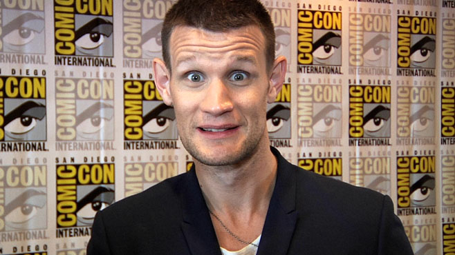 Doctor Who Comic-Con Interviews
