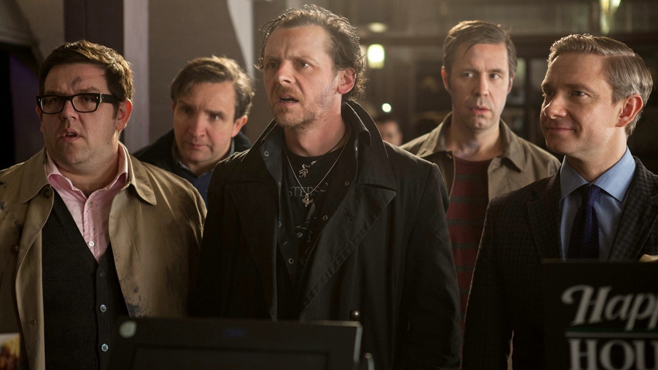 The World's End Cast