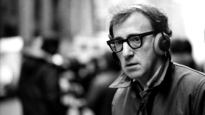 Woody Allen splash