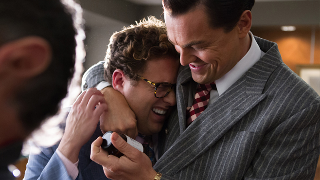 The Wolf of Wall Street Jonah Hill Leonardo DiCaprio
