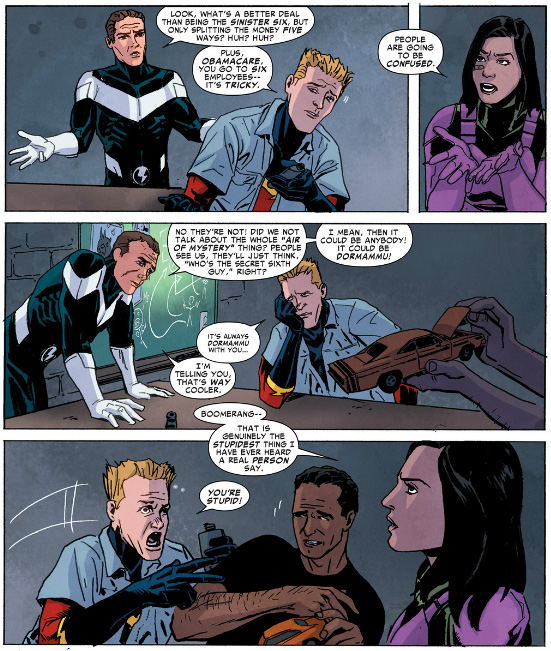 Superior Foes of Spider-Man #2 - Sinister Six 2