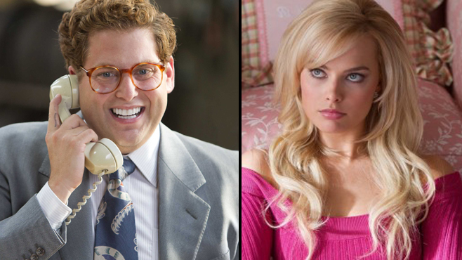 The Wolf of Wall Street Jonah Hill Margot Robbie