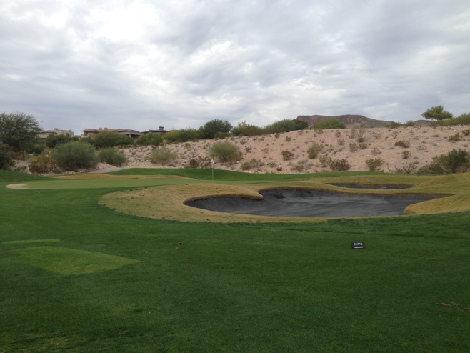 Black Sand Bunkers Offers One Of The Unique Features Bear S Best Golf In Las Vegas