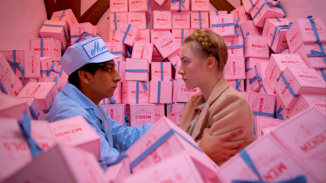 The Grand Budapest Hotel Tony Revolori Saoirse Ronan