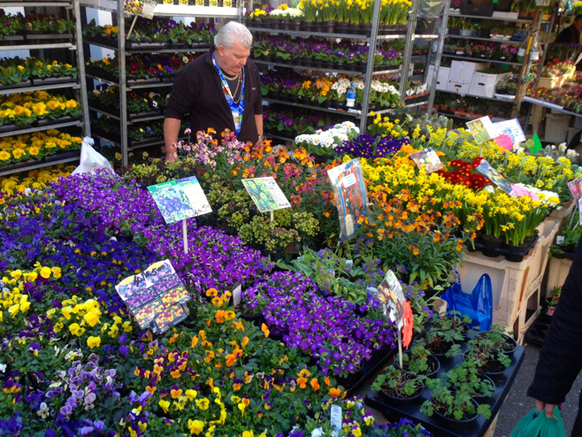 The Columbia Road Flower Market is a London institution and a perfect spot to take Mom.