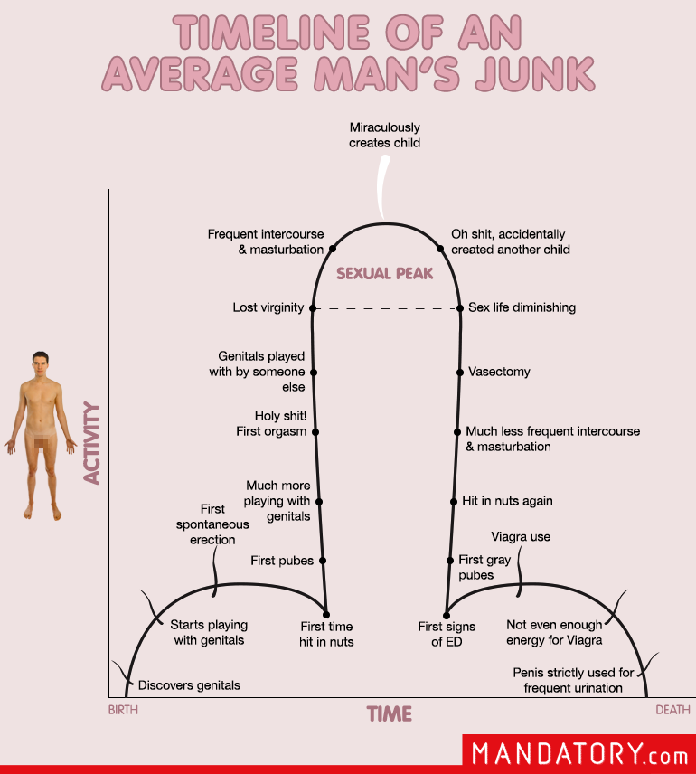 How long is a mans dick