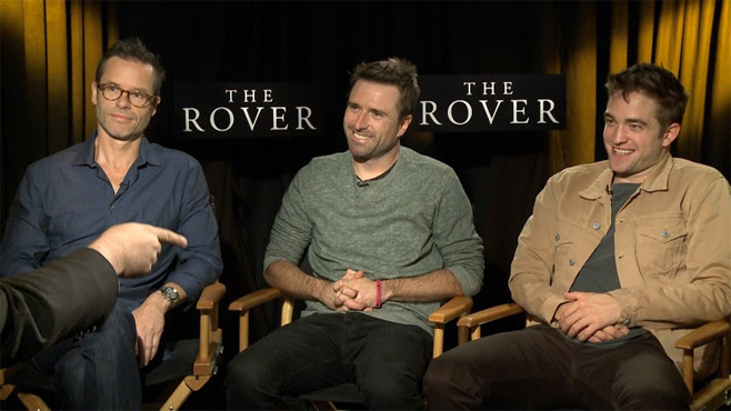 The Rover Robert Pattinson Guy Pearce David Michod