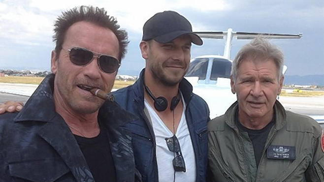 The Expendables 3 Patrick Hughes Harrison Ford Arnold Schwarzenegger
