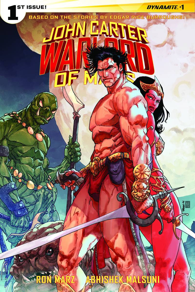 John Carter Warlord of Mars 1 Cover a