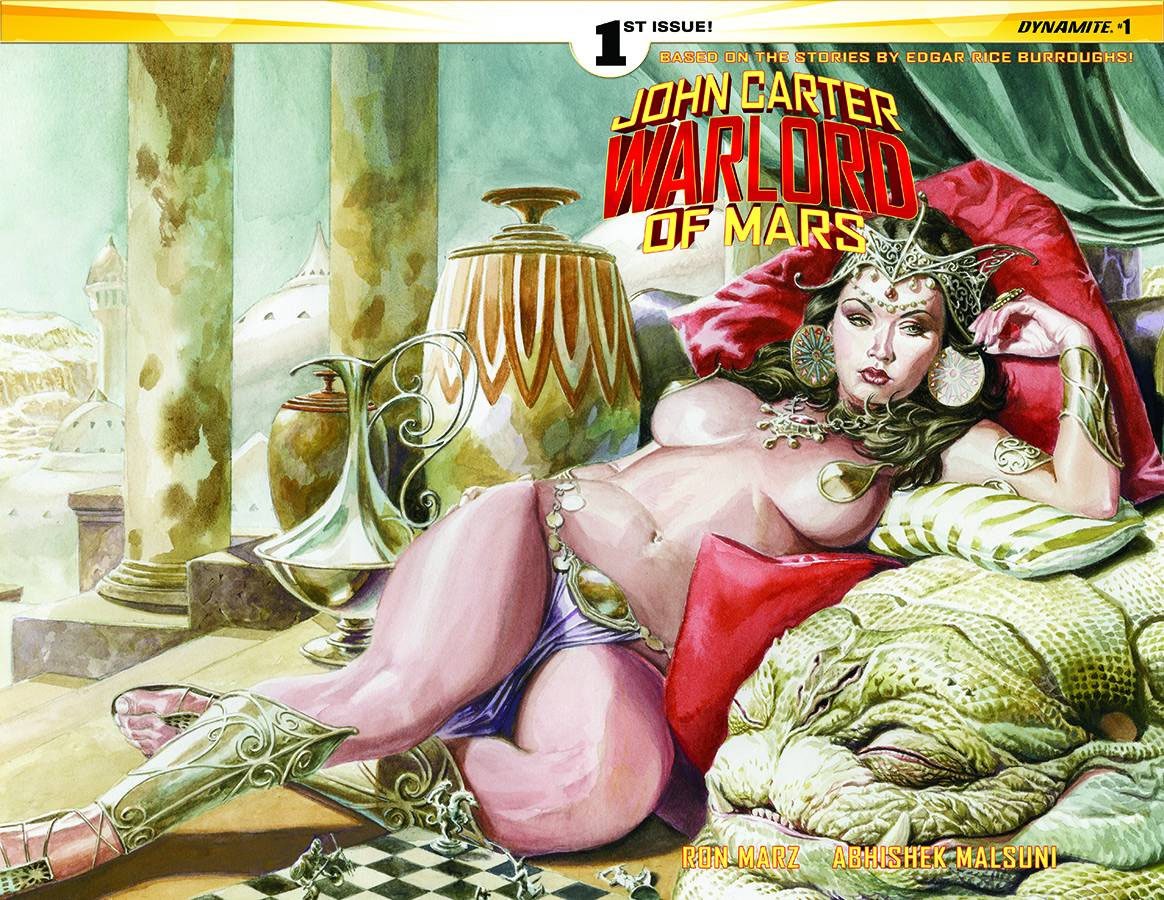 John Carter Warlord of Mars 1 Cover c