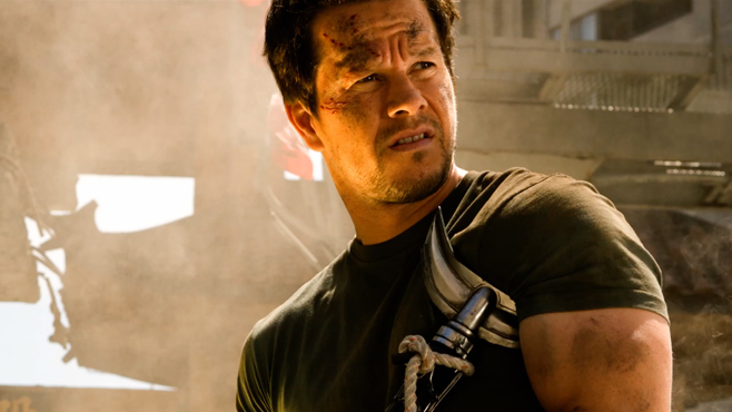 Mark Wahlberg Transformers Age of Extinction Blu-ray