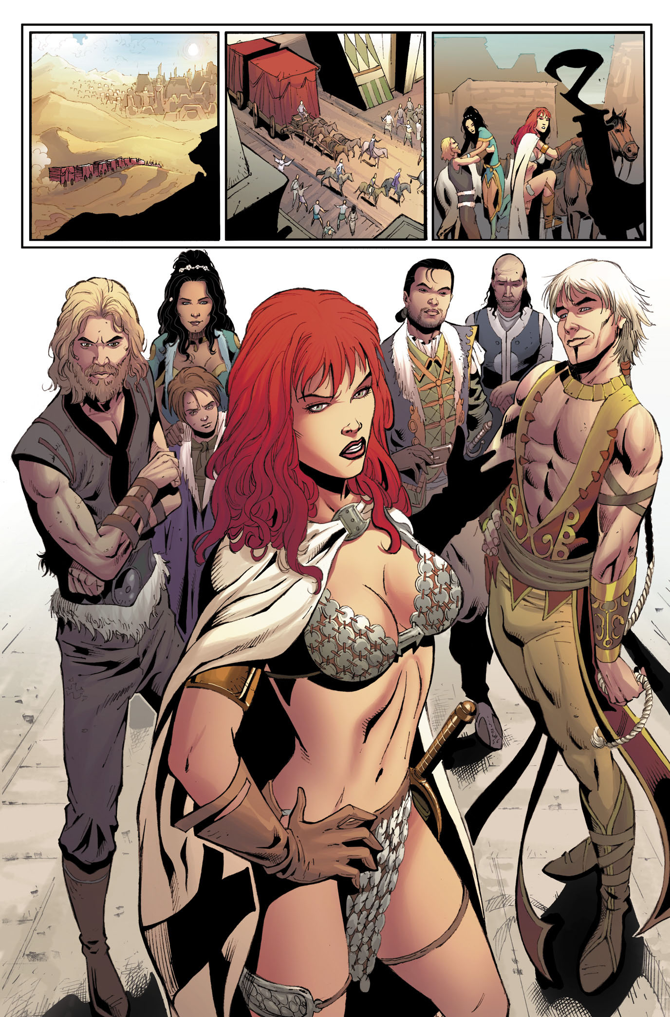 Red Sonja 12 Page 4