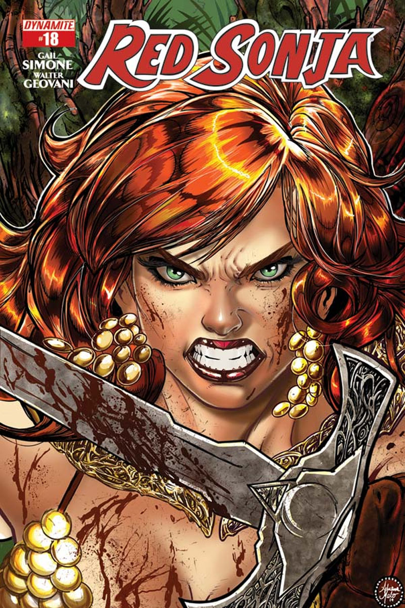 Red Sonja 18 Cover b