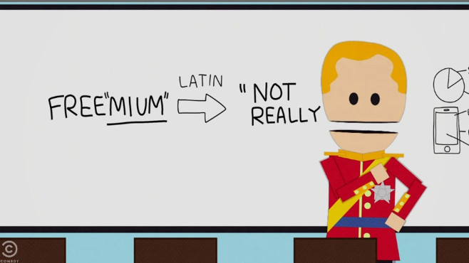 "South Park Trashes ""Freemium"" Games Like The Simpsons: Tapped Out"