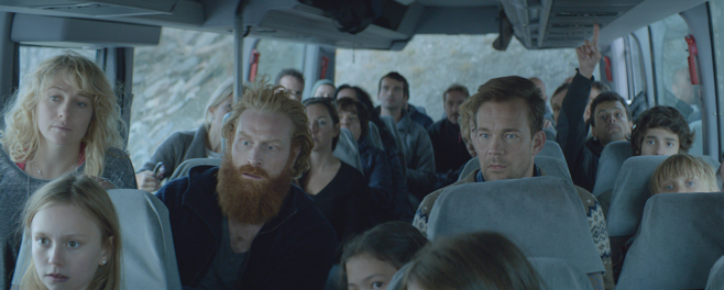 Force Majeure Bus Scene