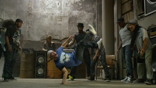 Step Up Revolution The Mob Plans the Bank Job Montage
