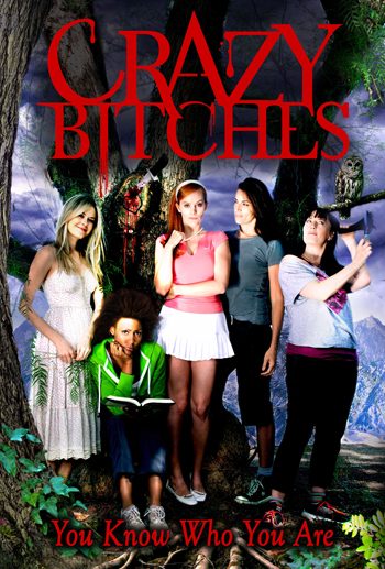 Crazy Bitches Poster Small