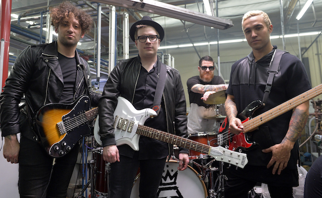 Fall Out Boy for Pepsi Out of the Blue campaign