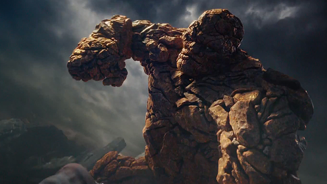 The Thing Jame Bell Fantastic Four