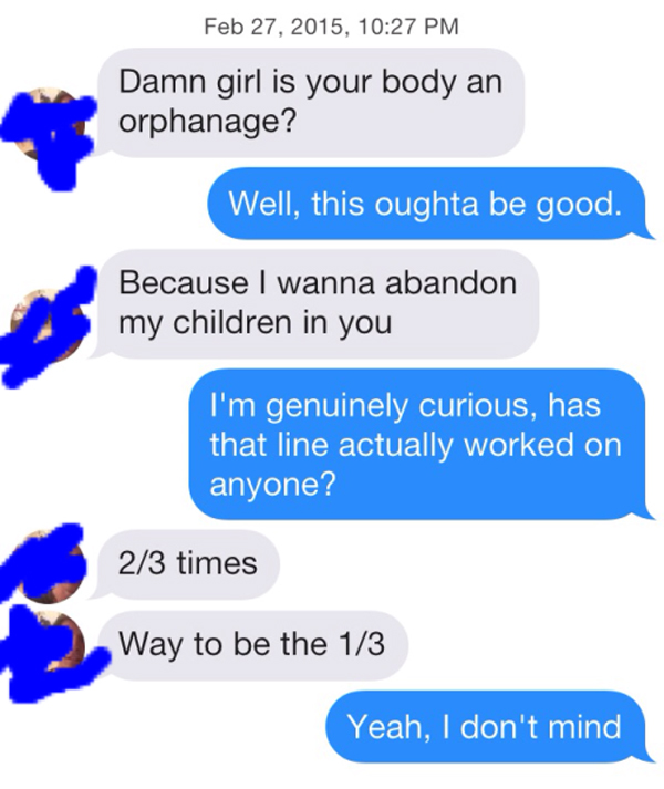 Funny sexual pick up lines for girls