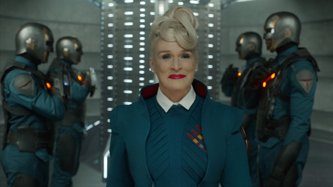 Guardians of the Galaxy Glenn Close Nova Prime