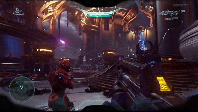 Halo 5: Guardians 4-Player Co-Op Gameplay and Warzone Multiplayer